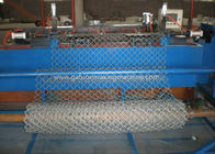 Double Wire Mesh Making Machine /Chain Link Fence Making Machine With PLC Control